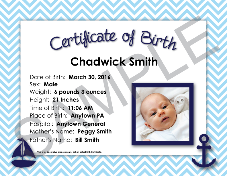 Birth Certificate Ordering Mothers Worksheet Online Babys